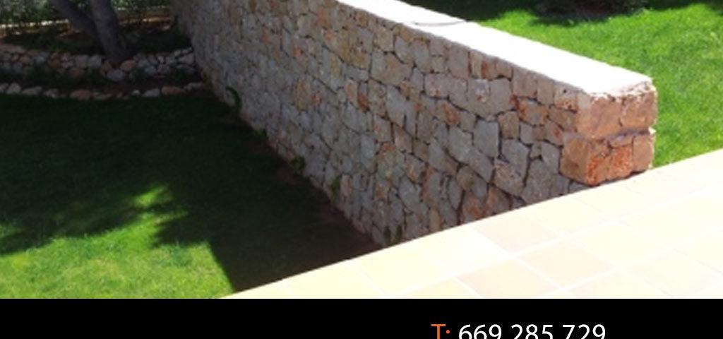 Márgenes-de-piedra,-muros-de-mampostería,-chapados-y-solados-de-piedra